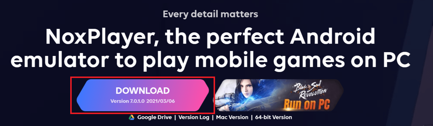 NoxPlayer - Free Android Emulator on PC and Mac
