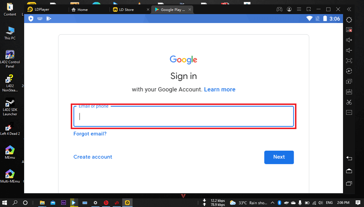 Sign in to install kik app on LDPlayer
